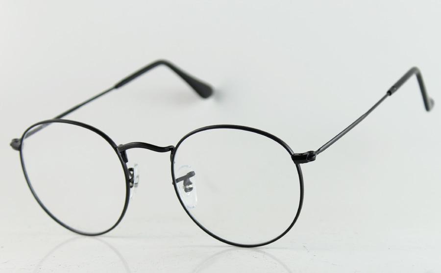 Hot Sell Classic Round Eyewear Frames Fashion Metal Optical Frames ...