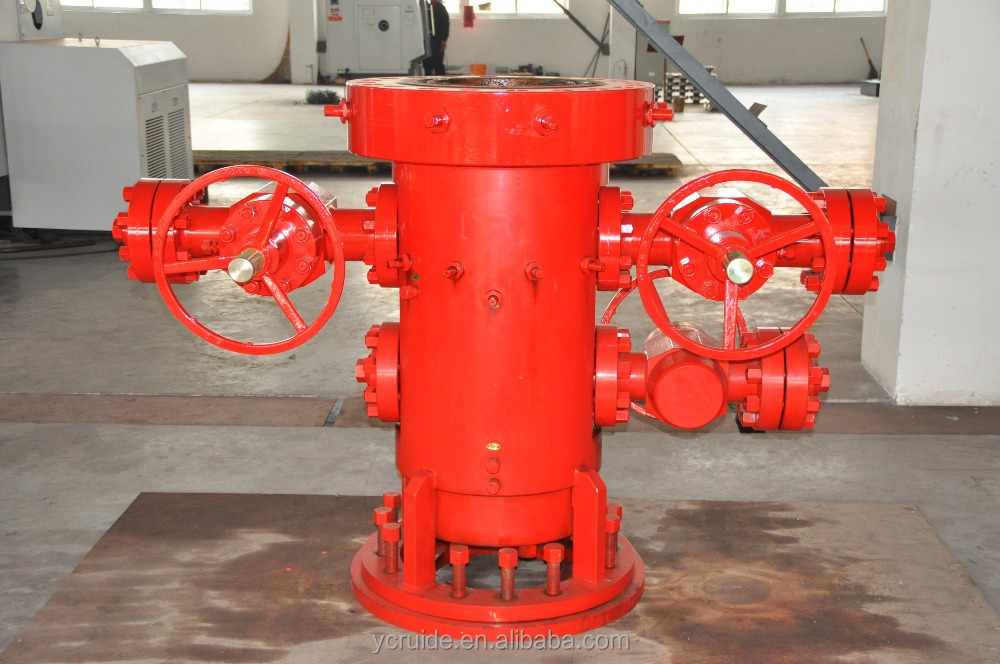 API 6A Oilfield Equipment wellhead Casing /Tubing drilling spool&Casing/Tubing head