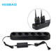 Factory price 6 in1 charger for Baofeng UV-6R/5R two way radio Six Way Bank Desktop Charger