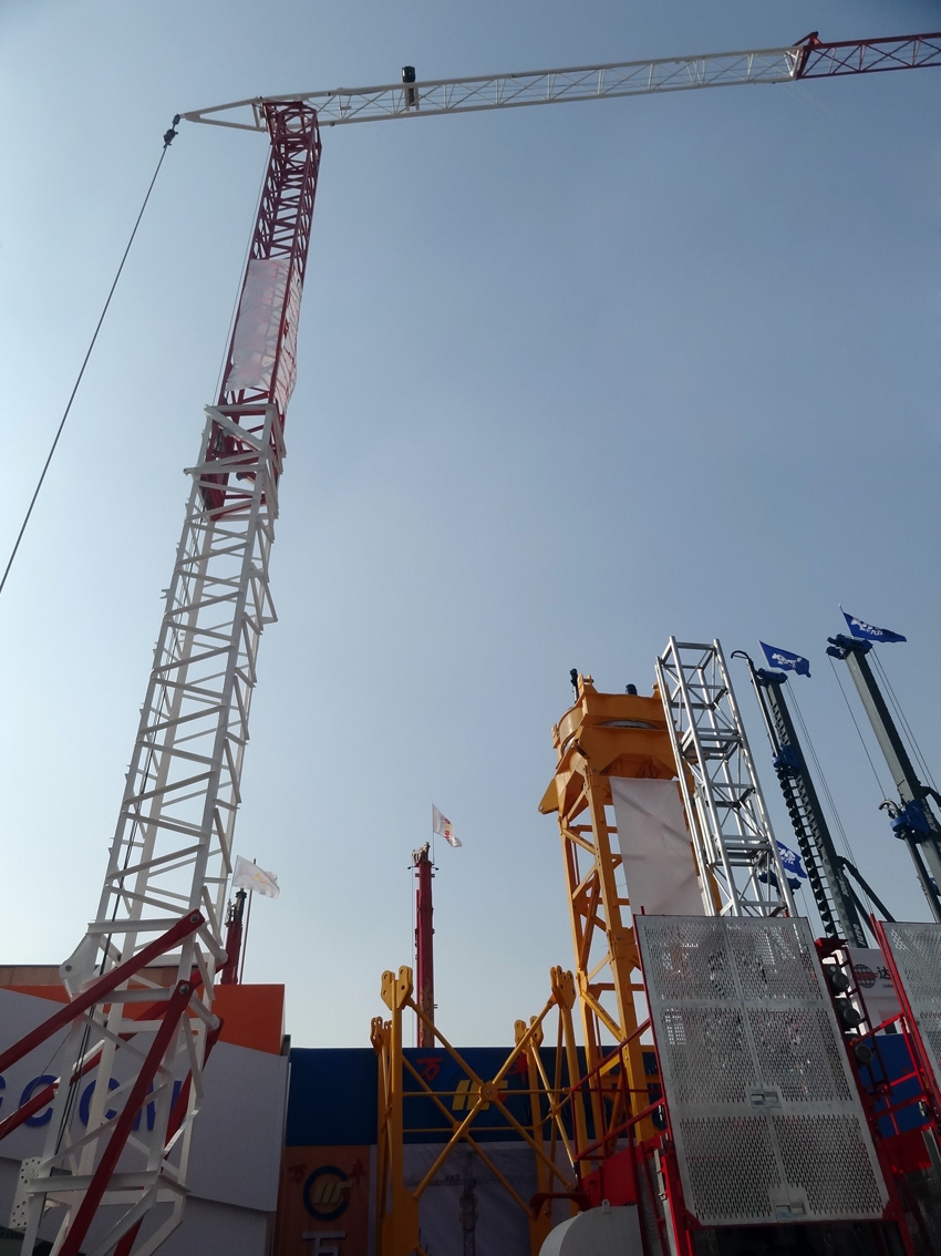 New fast- erecting tower crane mini tower crane