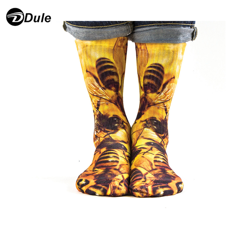 DL-I-1282 sublimation printing socks sublimation sock printer 3d sublimation socks