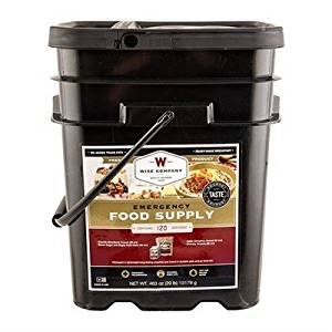 WISE FOODS - 120 SERVING BREAKFAST ONLY GRAB AND GO BUCKET