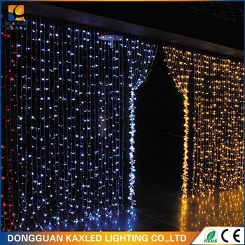 program design 24v christmas led chasing curtain light
