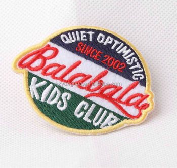 Wholesale factory direct price custom golf letter patches for Name brand golf shirts direct