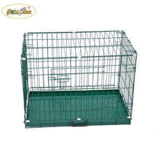 Folding Metal Pet kennel Dog Crate Puppy Cat raining Cages