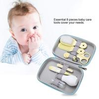 Baby Care Kit, Baby Safety Products Healthcare Grooming Kit Manicure Essential Daily Care Tool for Toddler Infant