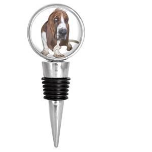Basset Hound Dog Puppy Wine Stopper