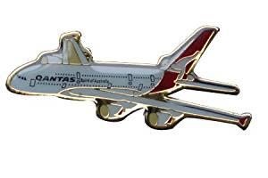 Qantas A380 Lapel Pin / Tie Tack
