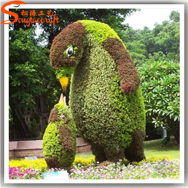 Wholesale New Style Artificial Garden Topiary Animals With