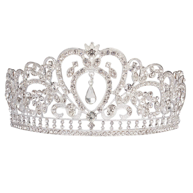 Get Quotations · Hapdoo Bridal Queen Tiara Crown a781c93942e6