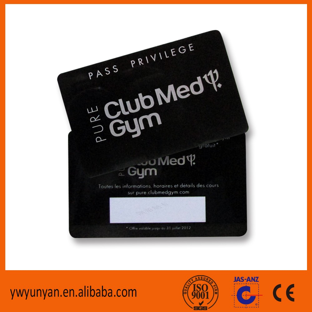 Free Design Free Sample Plastic Loyalty Card/ PVC Gift VIP Card/ Plastic Membership  Card  Membership Card Design