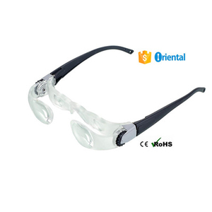 Double Eyes Glasses Magnifier Acrylic New Product,Plastic Magnifier Gift Case Alibaba China Supplier Free Sample