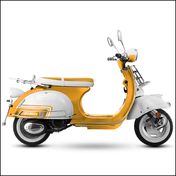 The New Model Clical Retro And Durable 50cc 125cc 150cc Vespa With Certificates Of