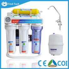 TAIWAN TYPE pre water filter RO system 7 etapa de osmosis inversa tap water purifiying plastic tank mineral water plant project