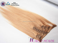 Wholesale Alibaba Remy Virgin Hair clip in eurasian hair extensions