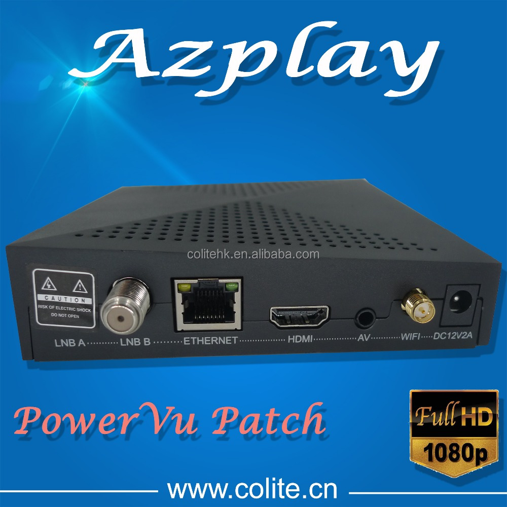 Hot Sale Digital Satellite Receiver Azplay Tv Box Support Iptv And ...