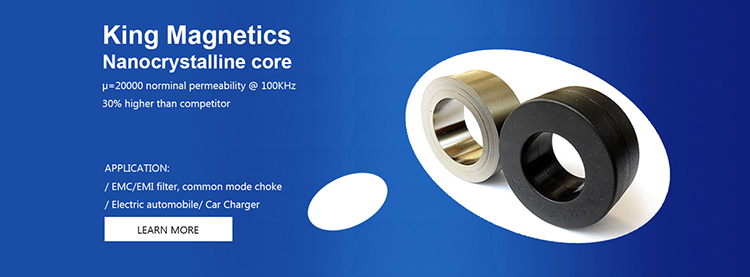 Kmnc-63 High Saturation Nanocrystalline C Cutting Cores For