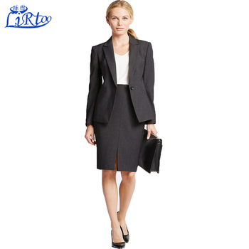 Black Women Las Designer Office Skirts Suits Photo Stan
