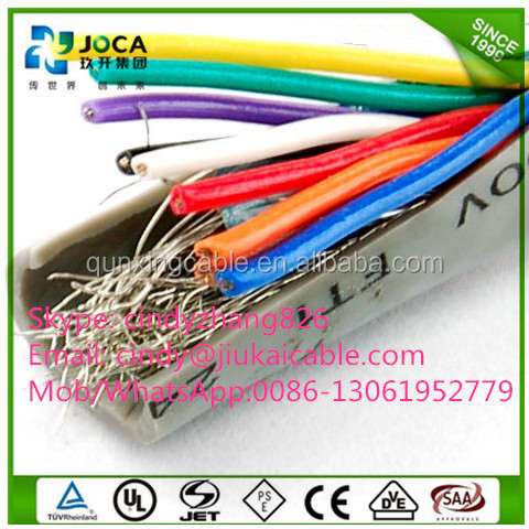 Factory Price awm 80 deg C 300 Vac UL Unshielded AWM 2464 cable/UL 2464 CABLE 80C 300 Volts