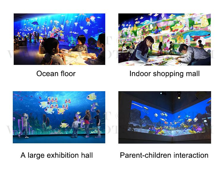 2020 dünya çapında temel sürümü interaktif duvar projeksiyon sistemi oyun game_interactive boyama duvar