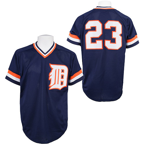 31be35fbbc0 Get Quotations · Detroit Tigers Authentic 1984 Kirk Gibson  14 Baseball  Jersey