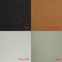 LUXURIOUS MARINE OSTRICH vinyl leather fabric for boat seat upholstery