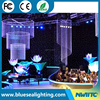 Wedding party Static LED star cloths led star curtain light