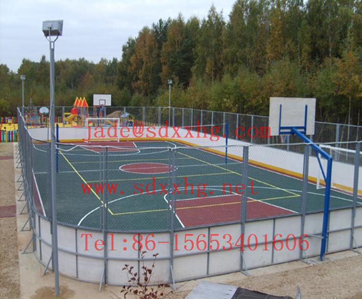 Hockey Slide Board|ice Hockey Rink Boards With Anti UV Pe Sheet