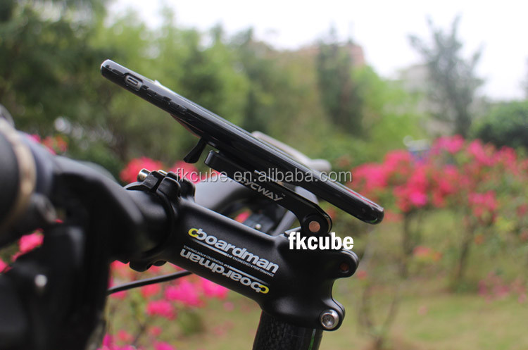 Aluminum Alloy CNC Craft for bike phone holder/GPS Mount