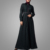 Hotsale Lace Style High Quality Islamic Women Clothing Newest Fashion Dubai Abaya Stand Collar Muslim Clothing