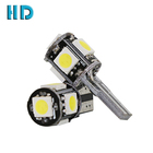 2016 new design electric t10 led auto car light sale policy 5smd 5050 lamp canbus dashboard