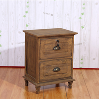 High quality wooden bedroom cabinet roast color drawer cabinet furniture wooden locker