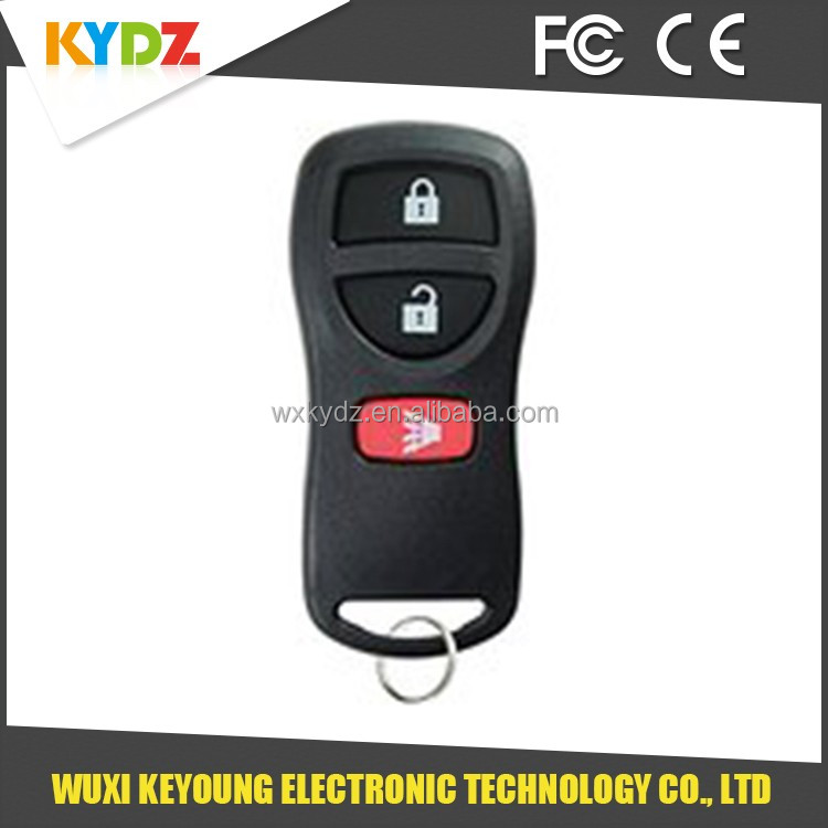 3 button car remote control key shell / case / cover / housing for Nissan