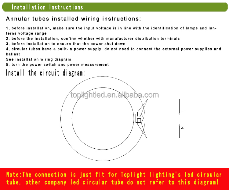 T9 Od 300mm Led Circline Lights 18w 12'' Buy Circline18w Rhalibaba: Circline Wiring Diagram At Gmaili.net