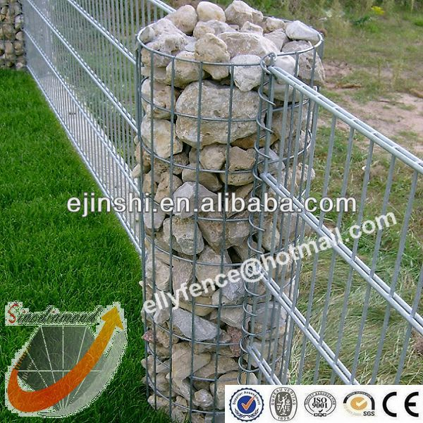 35x120cm Hot Dipped Galvanized Garden Gabion Pillars Buy Garden