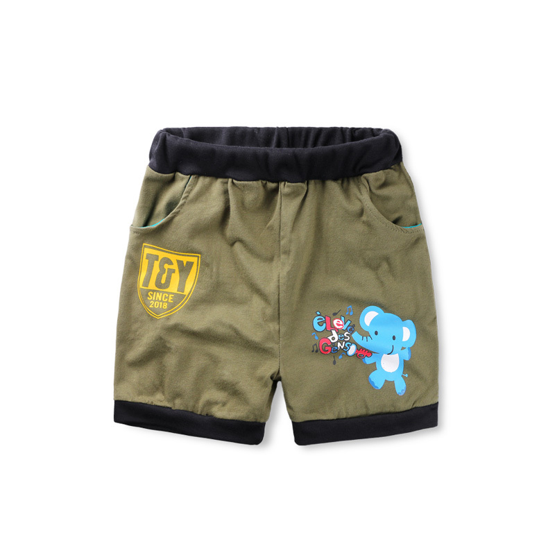962fecbe0455 Get Quotations · childrenshorts Boys pants Kids pants trousers for boys  100% cotton casual trousers children clothing shorts