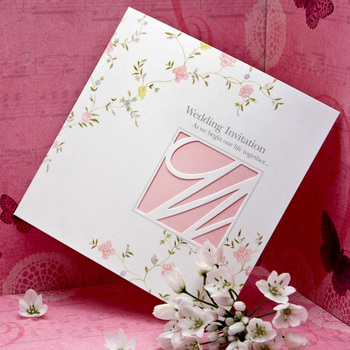 custom print paper invitation christmas birthday card view