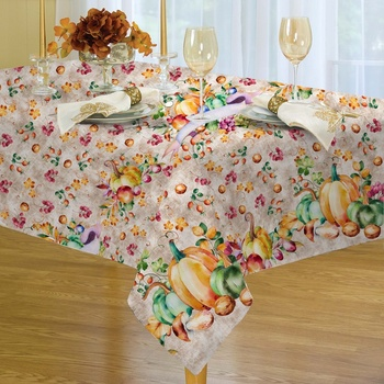 Hot sale polyester machine washable printing tablecloth custom printed table cloth for dinner party wedding picnic Christmas