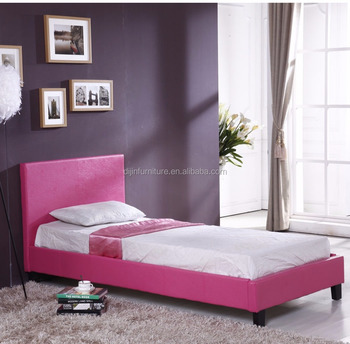 Modern Cheap Single Bed Designs Single Leather Bed Frame Buy Super