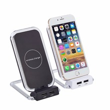 2018 New Product High Quality Universal Micro Usb Charger Cell Phone Qi Wireless Charger