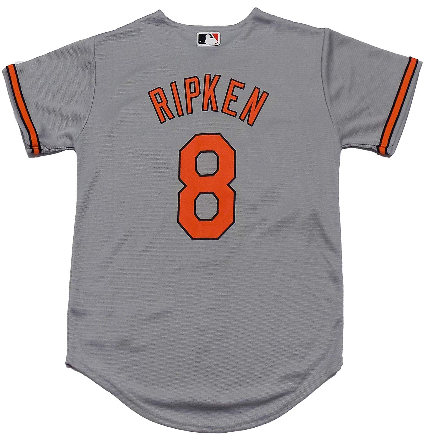42b05f9ecbe Get Quotations · Outerstuff Cal Ripken Baltimore Orioles Gray Youth Cool  Base Road Replica Jersey