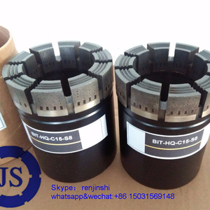 Impregnated Core Drill Bits T Series Double tube For Geological Exploration/Exploration core bit