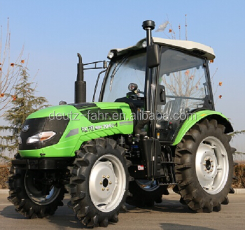 70hp 4WD tractor with cabin or sunshade