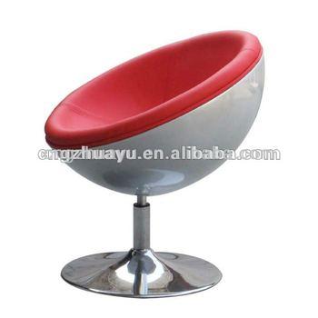 New Design Fiberglass Lunar Lounge Half Moon Chair HY A042 Modern Classic  Designer