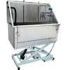 Professional stainless steel dog bathtub/dog grooming station H-105E