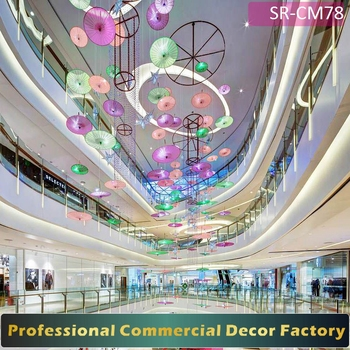 Customize Commercial Shopping Mall Spring Holiday Decor For All
