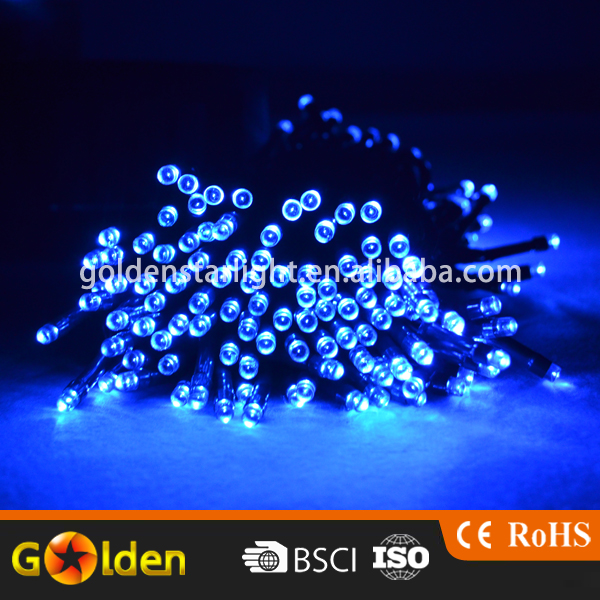 Factory Direct Sell Solar Fairy 100 pcs Color Led Hanging String Lights