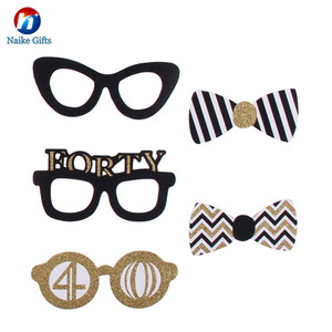 Party Sun Glasses Promotional Funny Party Paper Eye Glasses Happy Birthday Paper Glasses Photo Booth Props