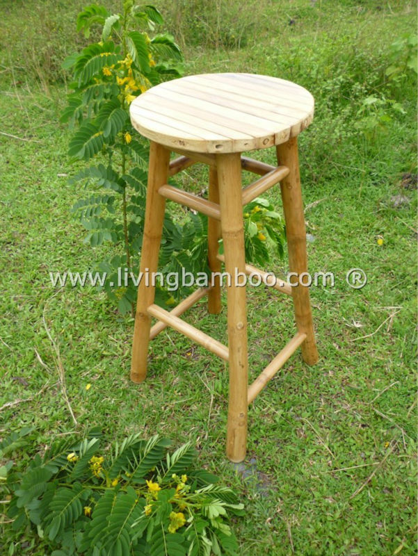 Pleasing Ninh Chu Round Bamboo Bar Stool For Tiki Bar Relax Buy Bar Stool Bar Chair Tiki Bar Product On Alibaba Com Gmtry Best Dining Table And Chair Ideas Images Gmtryco
