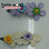 Hot Sale Fancy Flower Butterfly Plastic Hair Clips for Girls
